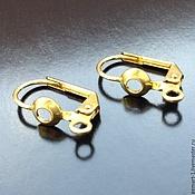 Материалы для творчества handmade. Livemaster - original item Shvenzy with a lock made of brass round art. 4-2B. Handmade.