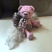 Мишки Тедди ручной работы. Ярмарка Мастеров - ручная работа Мишка тедди ангел, teddy bear, коллекционный мишка, интерьерный мишка. Handmade.