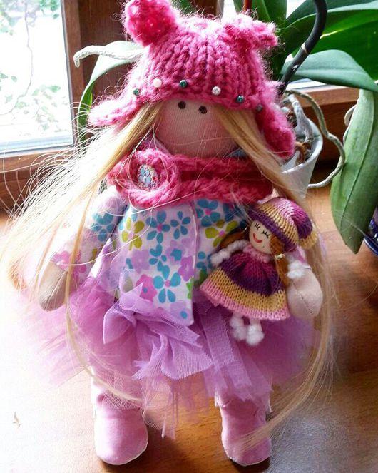Куклы Тильды ручной работы. Ярмарка Мастеров - ручная работа. Купить Куколка-тильда малышка. Handmade. Кукла ручной работы