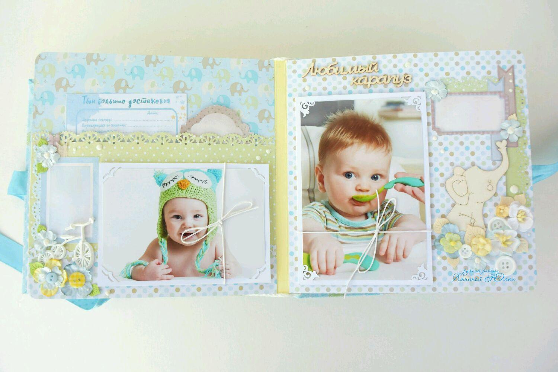 внутренней заказать фотоальбом для новорожденного мальчика МОРСКАЯ