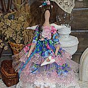Куклы и игрушки ручной работы. Ярмарка Мастеров - ручная работа Зита текстильная, интерьерная кукла Тильда Ангел.. Handmade.