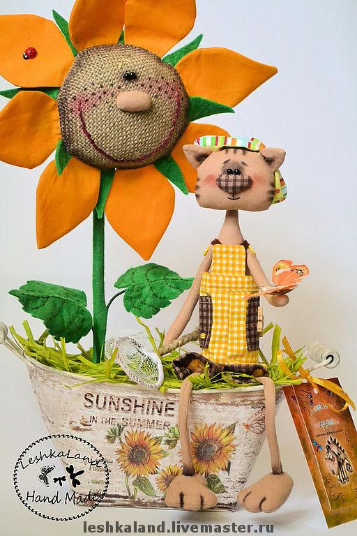 Ароматизированные куклы ручной работы. Ярмарка Мастеров - ручная работа. Купить Поцелованные солнышком. Handmade. Прикольный подарок, интерьерная игрушка