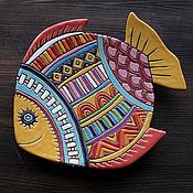 Посуда ручной работы. Ярмарка Мастеров - ручная работа Рыбка-тарелка керамическая. Handmade.