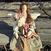 Куклы и игрушки ручной работы. Ярмарка Мастеров - ручная работа Феечка в стиле БОХО для Наталии. Handmade.