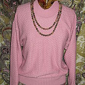 """Одежда ручной работы. Ярмарка Мастеров - ручная работа Джемпер """"Розовая пантера"""". Handmade."""
