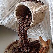 Подарки к праздникам ручной работы. Ярмарка Мастеров - ручная работа Кофейная чашка проливашка. Handmade.