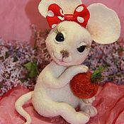 Куклы и игрушки ручной работы. Ярмарка Мастеров - ручная работа Мышка Маруся. Handmade.