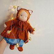 Вальдорфские куклы и звери ручной работы. Ярмарка Мастеров - ручная работа Вальдорфская кукла Лисичка. Handmade.
