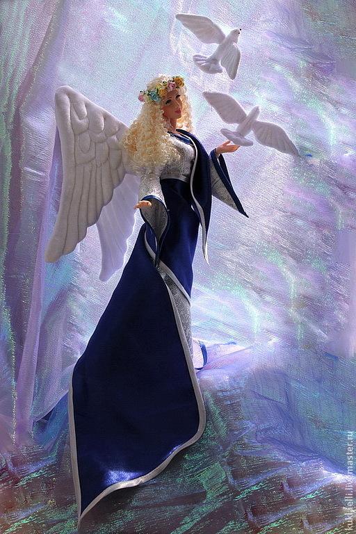 Коллекционные куклы ручной работы. Ярмарка Мастеров - ручная работа. Купить Кукла Ангел Хранитель. Handmade. Ангел хранитель