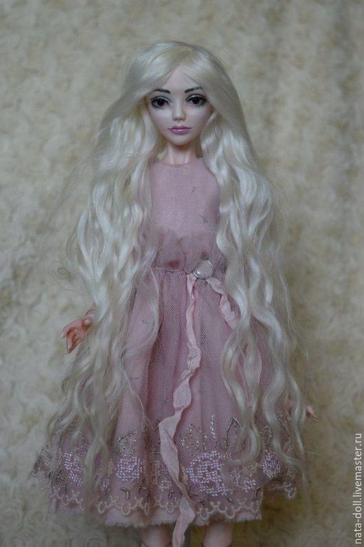 Коллекционные куклы ручной работы. Ярмарка Мастеров - ручная работа. Купить шарнирная кукла из фарфора. Handmade. Розовый, bjd