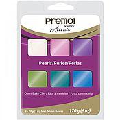 Материалы для творчества ручной работы. Ярмарка Мастеров - ручная работа Набор Sculpey Premo 6 Color Sampler Pack Pearls. Handmade.