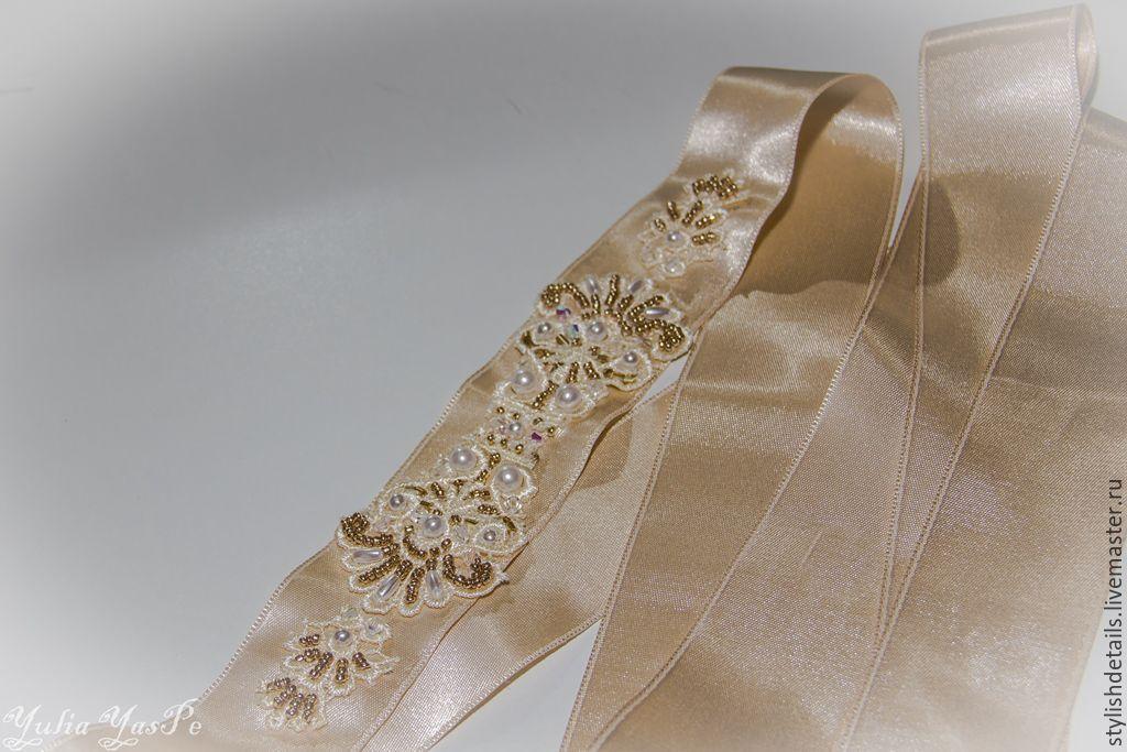Аксессуары пояс для платья