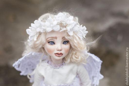 Коллекционные куклы ручной работы. Ярмарка Мастеров - ручная работа. Купить НеВесть шарнирная авторская кукла из flumo. Handmade. флюмо