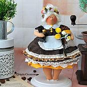 Куклы и игрушки ручной работы. Ярмарка Мастеров - ручная работа Копия работы Толстушка. Handmade.