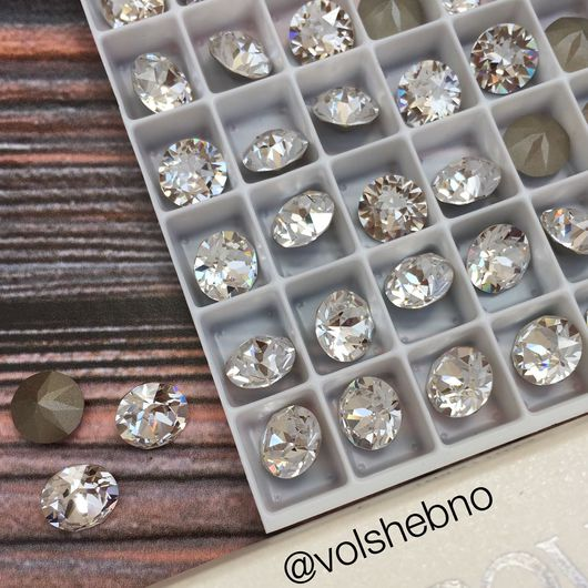 Для украшений ручной работы. Ярмарка Мастеров - ручная работа. Купить 8 мм Шатоны Swarovski 1088 1200 ss55 Дентле Dentle Сваровски кристаллы. Handmade.