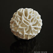 Украшения handmade. Livemaster - original item Porcelain ring from the