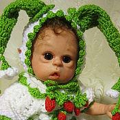 Куклы и игрушки ручной работы. Ярмарка Мастеров - ручная работа Кукла реборн Земляничка.. Handmade.