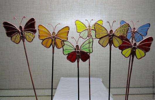Украшения для цветов ручной работы. Ярмарка Мастеров - ручная работа. Купить Бабочки. Handmade. Бабочки, тиффани, украшения ручной работы