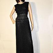 handmade. Livemaster - original item Crochet evening dress made of natural silk Jenny.. Handmade.
