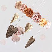 """Для дома и интерьера ручной работы. Ярмарка Мастеров - ручная работа Мобиль """"Flower"""". Handmade."""