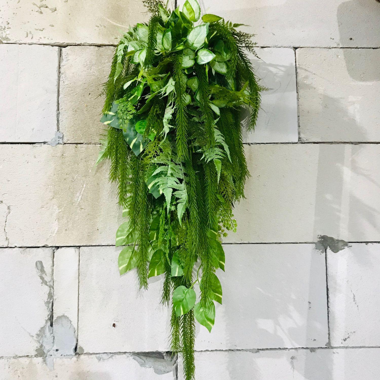 Подвесная композиция из искусственных растений, Композиции, Белгород,  Фото №1