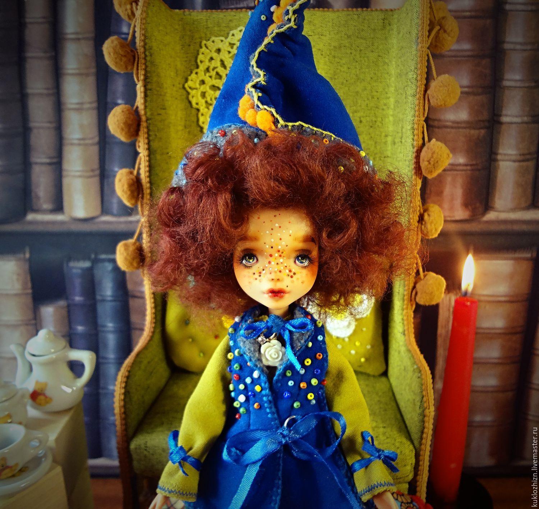 ООАК. Луша. Шарнирная кукла авторская, Шарнирная кукла, Комсомольск-на-Амуре, Фото №1