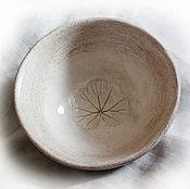 Посуда ручной работы. Ярмарка Мастеров - ручная работа Салатник с листиком. Handmade.