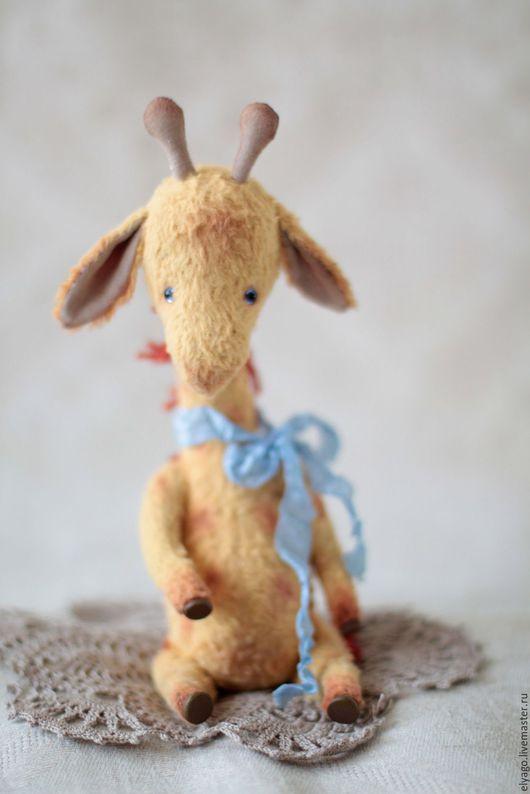 Мишки Тедди ручной работы. Ярмарка Мастеров - ручная работа. Купить Тедди жирафик. Handmade. Желтый, друзья мишек тедди