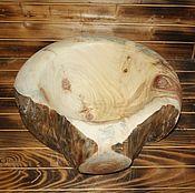 деревянная чаша из тополя