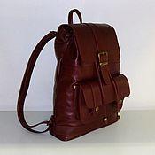 Сумки и аксессуары handmade. Livemaster - original item Backpack leather 33. Handmade.