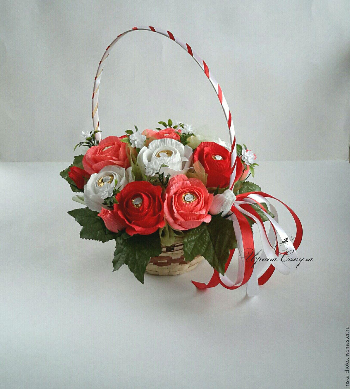 Букет роза из конфет мастер класс с пошаговым фото для начинающих