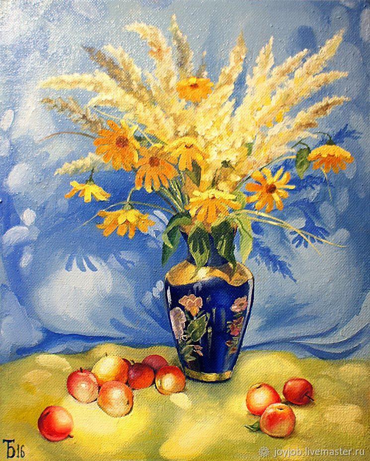 Картина маслом Солнечный натюрморт, Натюрморт, Ижевск, Фото №1