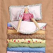 Куклы и игрушки ручной работы. Ярмарка Мастеров - ручная работа Кукла в стиле Тильда - Принцесса на горошине. Handmade.