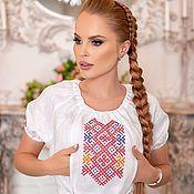 Одежда handmade. Livemaster - original item Dress with embroidery
