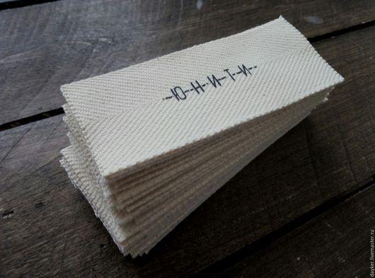 Упаковка ручной работы. Ярмарка Мастеров - ручная работа. Купить Этикетки-Бирки-Метки. Handmade. Комбинированный, дети, хлопковая лента
