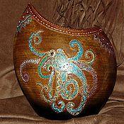 """Для дома и интерьера ручной работы. Ярмарка Мастеров - ручная работа Ваза керамика """"Тотем"""". Handmade."""