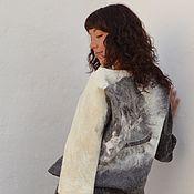 Одежда handmade. Livemaster - original item Skirt felted