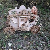 Мебель для кукол ручной работы. Ярмарка Мастеров - ручная работа Карета для кукол до 30 см. Handmade.