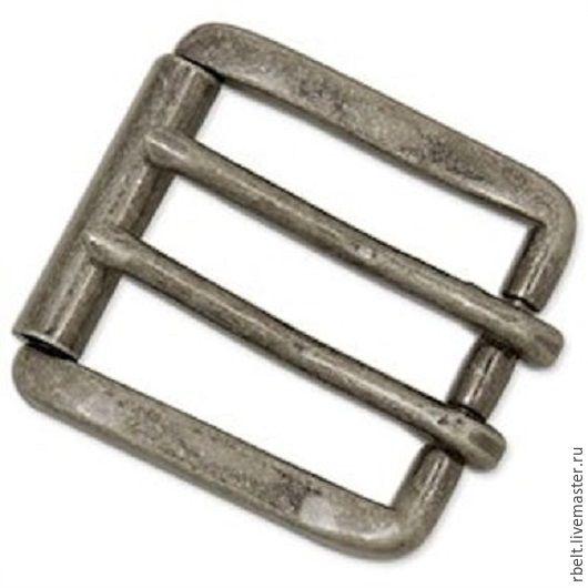 Другие виды рукоделия ручной работы. Ярмарка Мастеров - ручная работа. Купить код товара 1/10 Б     Пряжка античное серебро для ремня шириной 38 мм. Handmade.