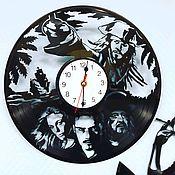Часы из виниловых пластинок ручной работы. Ярмарка Мастеров - ручная работа Часы из виниловых пластинок. Handmade.