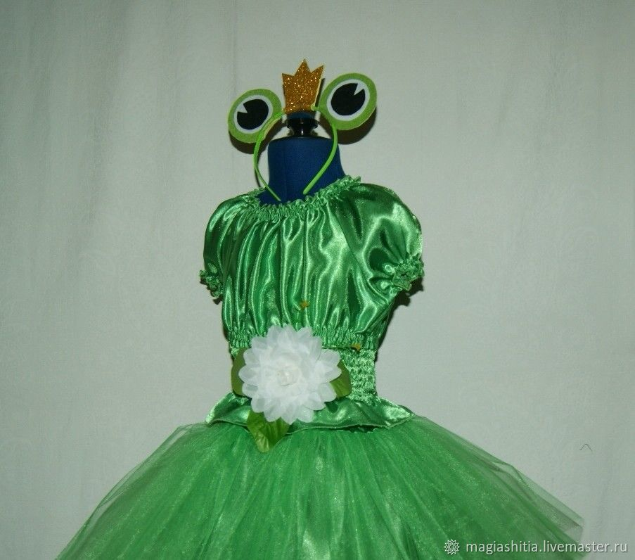 Карнавальный костюм Царевна-лягушка – купить в интернет ... - photo#27