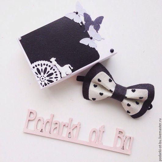 Галстуки, бабочки ручной работы. Ярмарка Мастеров - ручная работа. Купить Бабочка-галстук. Handmade. Разноцветный, фетр