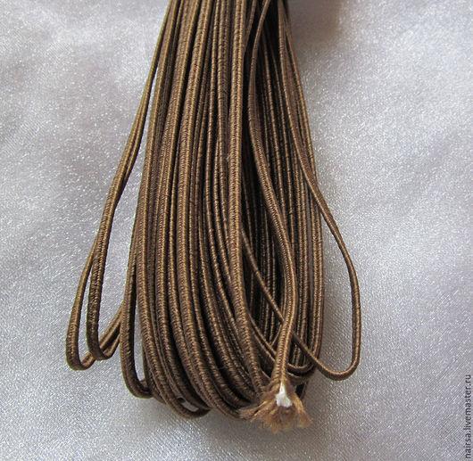 Сутаж белорусский 2.5 мм Цвет - Темный Бежевый