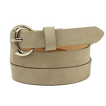 Accessories. Livemaster - original item Copy of Beige suede belt. Handmade.