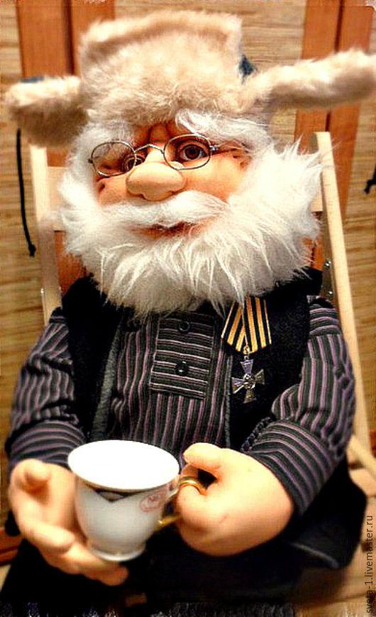 Коллекционные куклы ручной работы. Ярмарка Мастеров - ручная работа. Купить Просто хороший человек.. Handmade. Коричневый