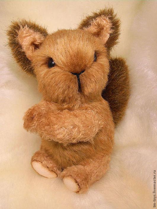 Мишки Тедди ручной работы. Ярмарка Мастеров - ручная работа. Купить Бельчонок Софи. Handmade. Рыжий, тедди, милый
