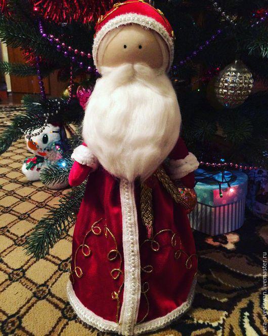 Куклы Тильды ручной работы. Ярмарка Мастеров - ручная работа. Купить Дед Мороз, Тильда Дед мороз, Большеножка, Санта-Клаус,  Новый год. Handmade.