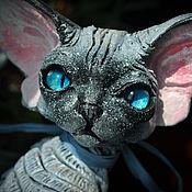 Куклы и игрушки handmade. Livemaster - original item Cepsi. Cat Devon Rex.. Handmade.