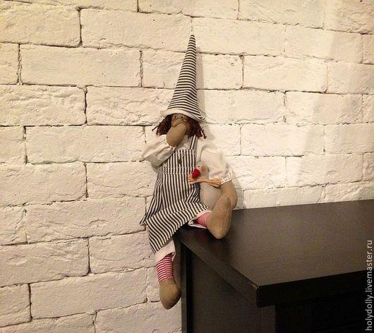 Куклы Тильды ручной работы. Ярмарка Мастеров - ручная работа. Купить Тильда птичница. Handmade. Бежевый, текстильная кукла