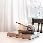 Материалы для творчества handmade. Livemaster - original item 10mm Cedar Wood Knitting Hook. K296. Handmade.